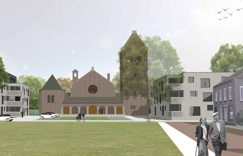Plan Medical Center Saint Joseph church Kaatsheuvel ready